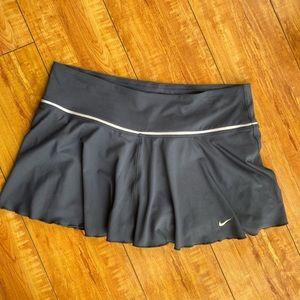 Navy blue Nike tennis skirt